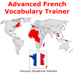Advanced French Vocabulary Trainer