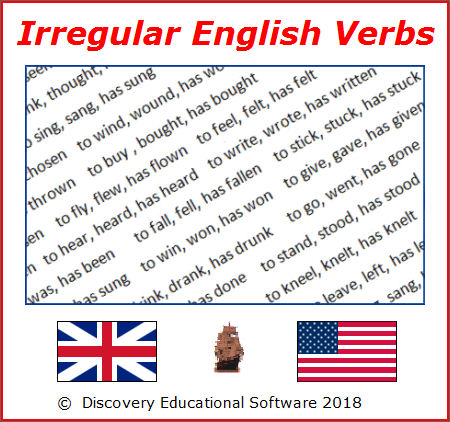 Free download Irregular English Verbs